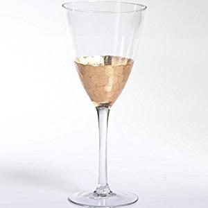 Zodax   Fez Red Wine Gold Leaf  $21.00