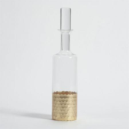 Zodax   Gold Leaf Decanter  $42.00