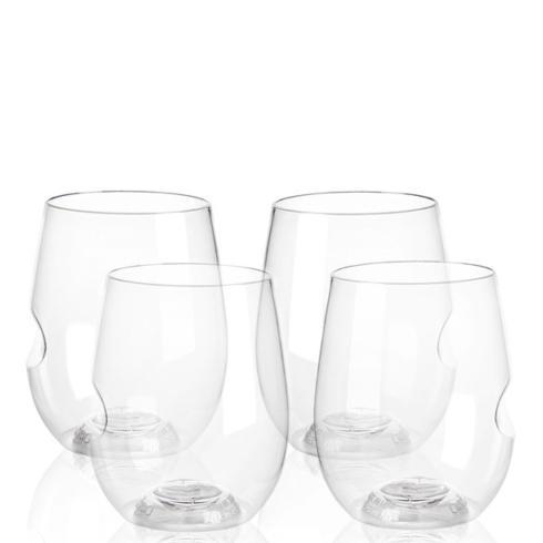 GoVino   Wine Glasses set of 4  $17.95