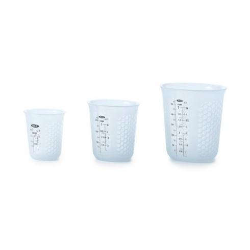 OXO   3 Piece Squeeze & Pour Cup $19.99