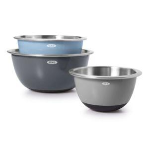 OXO   3 pc Insulated SS Mixing Bowl Set - Gray $66.99