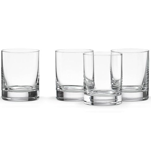 $50.00 Tuscany Cylinder Double Old Fashion Glasses Set of 4