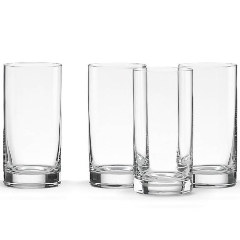 $50.00 Tuscany Cylinder Highball Glasses Set of 4