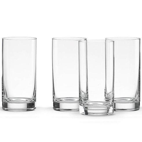 $40.00 Tuscany Cylinder Highball Glasses Set of 4