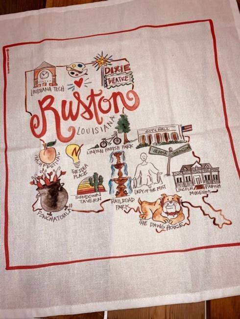 Park Haus Exclusives   Magnolia Creative - Ruston Towel $19.00