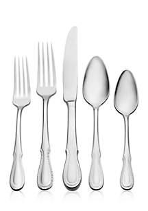 $50.00 Nottingham Flatware 5 Piece Place Setting