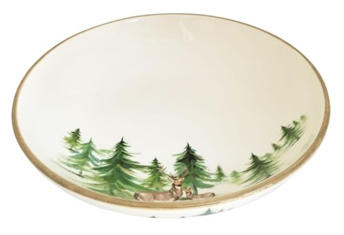 "Woodlands Serving Bowl 12""h, 4""h"