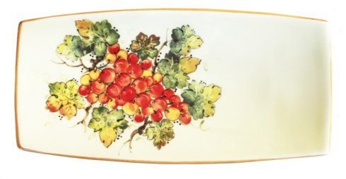 "Vineyard Red Grapes - Small Rectangle tray  10"" x 5"""