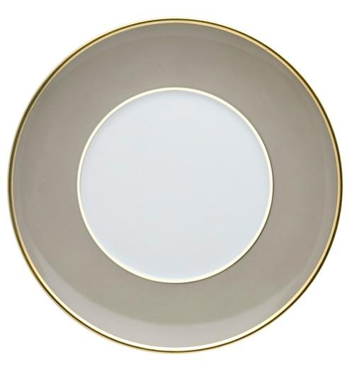 $20.00 Bread & Butter Plate Grey and Gold