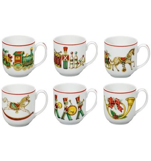 $226.00 Set 6 Mugs
