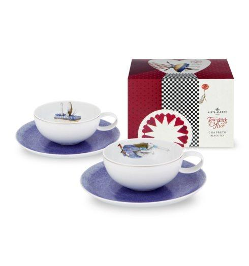 $145.00 Set 2 Tea cup & saucer + Tea bag (gift box)