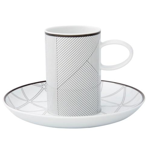 $35.00 Coffee Cup And Saucer  Black