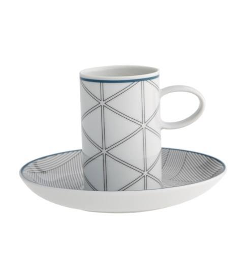 $35.00 Coffee Cup And Saucer Blue