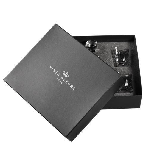 Vista Alegre  Avenue Case with Whisky Decanter and 4 Old Fashion $495.00
