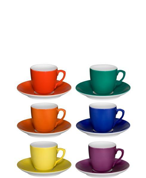 $209.00 Set 6 Coffee Cups & Saucers
