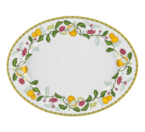 $108.00 Small Oval Platter