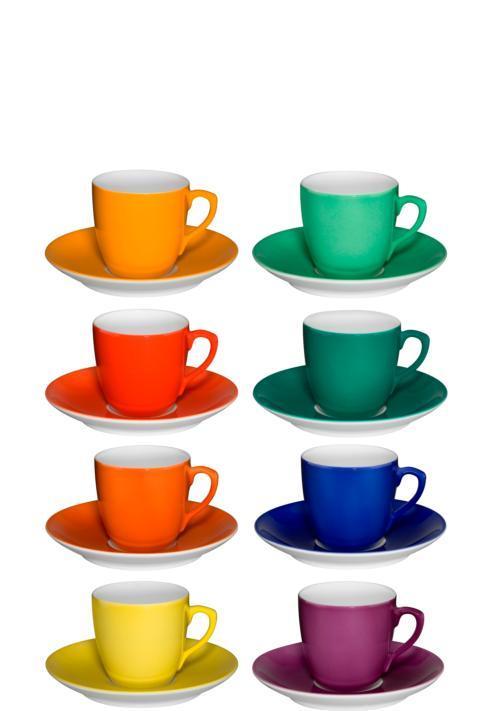 $275.00 Set 8 Coffee Cups & Saucers
