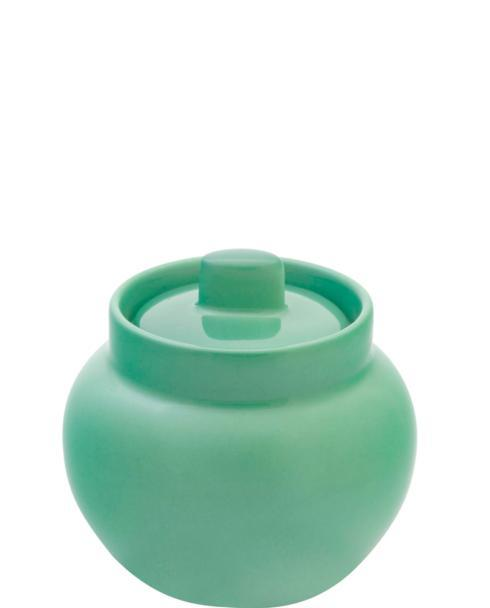 $60.00 Sugar Pot Light Green