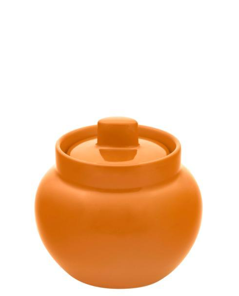 $42.00 Sugar PotLight Orange