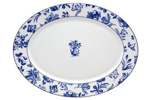 Vista Alegre  Chintz Azul Large Oval Platter $95.00