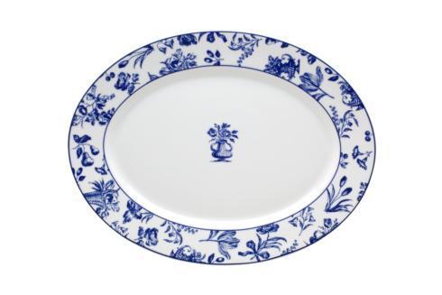 Vista Alegre  Chintz Azul Medium Oval Platter $79.00