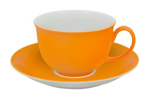 $63.00 Breakfast Cup & Saucer Light Orange
