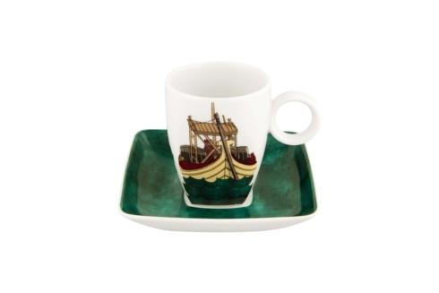 $45.00 Coffee Cup & Saucer Barco Rebelo