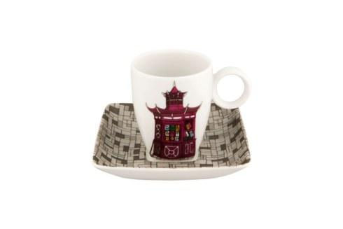 $40.00 Coffee Cup & Saucer Quiosque