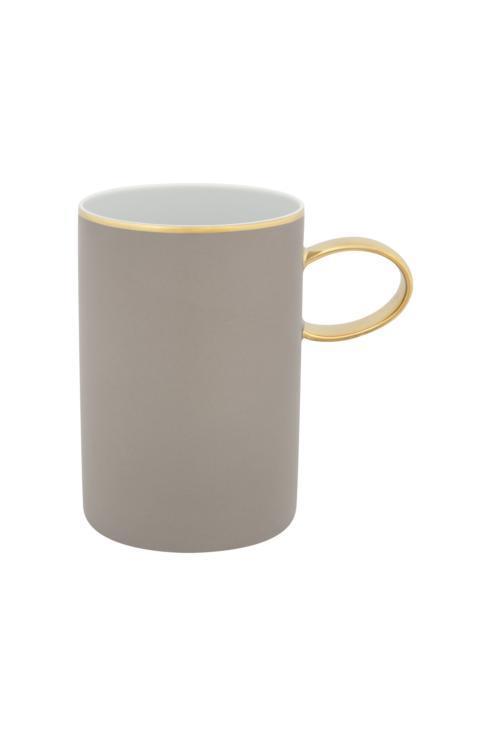 $25.00 Mug Grey And Gold