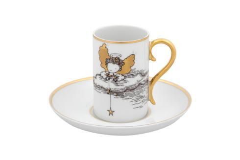 $145.00 Set 2 Coffee Cup & Saucer Rocco
