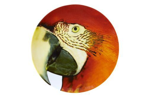 $105.00 Charger Plate Red Macaw