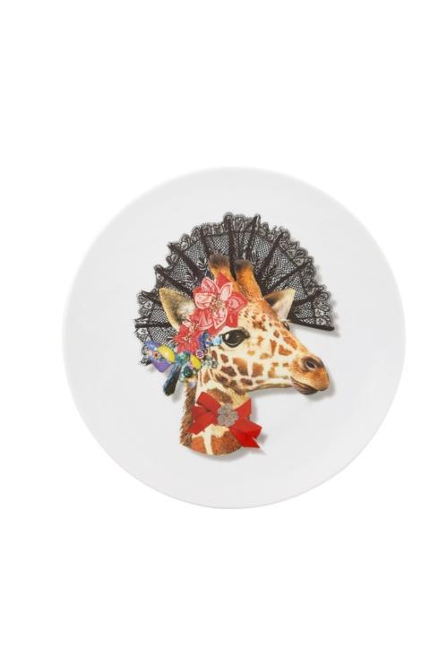 "$50.00 Dessert Plate "" Doña Jirafa """