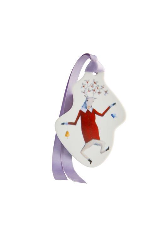 $44.00 Reindeer With Bells Ornament