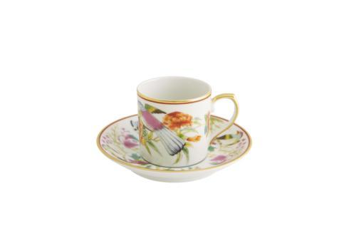 $71.25 Coffee Cup And Saucer Fruits