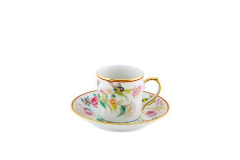 $71.25 Coffee Cup And Saucer Flowers