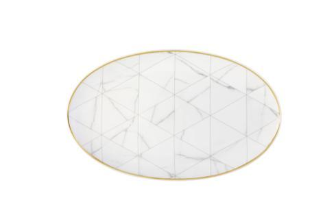 Vista Alegre  Carrara Medium Oval platter $108.00