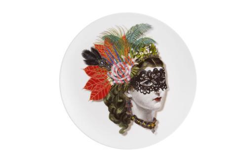 $55.00 Dessert Plate Mamzelle Scarlette
