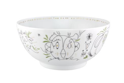 $264.00 Large Salad Bowl Green
