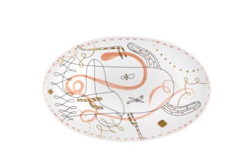 $111.00 Large Platter Orange