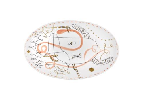 $105.00 Large Platter Orange