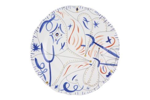 $157.00 Round Platter Blue