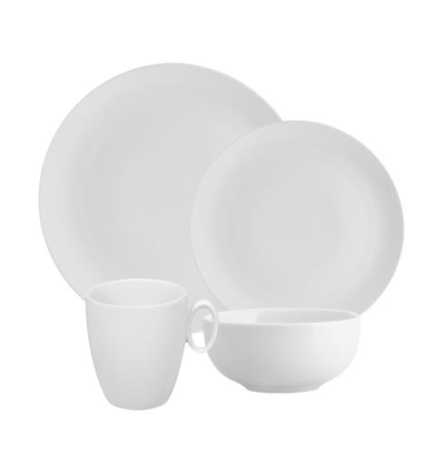 $62.00 Set of 4 Pieces in Broadway White