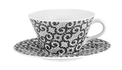 $90.00 Tea Cups & Saucers – Set of 2