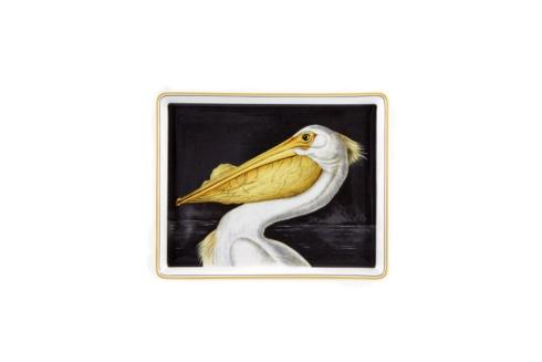 $115.00 White Pelican Tray