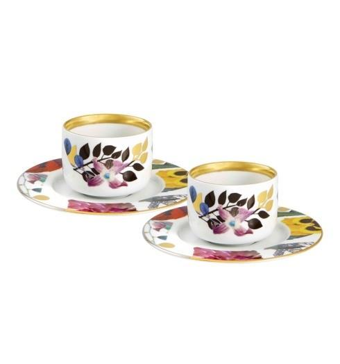 $175.00 Coffee Cups & Saucers – Set of 2