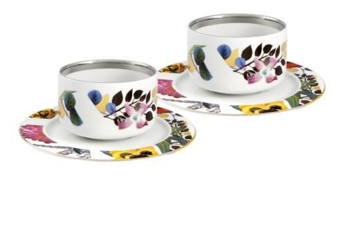 $225.00 Tea Cups & Saucers – Set of 2