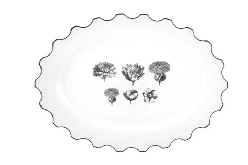 $190.00 Large Oval Platter