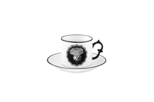 $75.00 White Tea Cup and Saucer