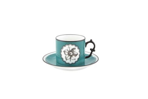 $75.00 Peacock Tea Cup and Saucer
