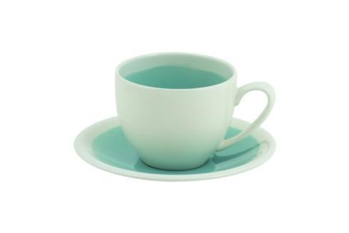 Tea Cup & Saucer - Blue